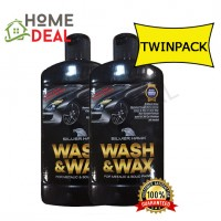 SILVERHAWK WASH & WAX 450G TWIN PACK (SILVERHAWK清洁洗车剂450G双套)
